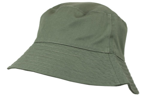 B7000 – 100% Washed Chino Cotton Bucket hat with Cotton Lining.