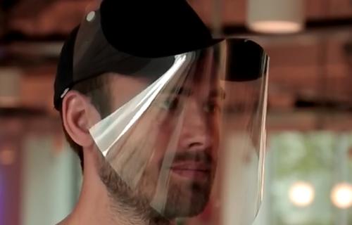 FACE PROTECTION – BASEBALL CAP VISOR