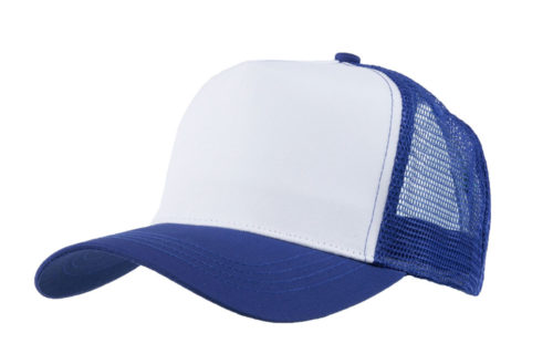 C6601 – Cotton Fronted Mesh Back 5 Panel Trucker.
