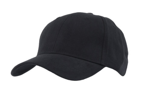 C6603 – Fully Fitted 6 panel cap with elasticated sweatband.