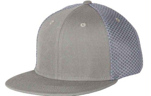 C6622 – Sneaker Mesh 6 Panel Flat Peak Snapback Cap