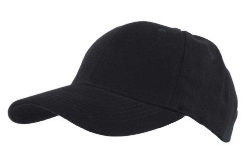 C6716 – 100% Heavy Brushed Cotton 6 Panel cap with Velcro adjuster.