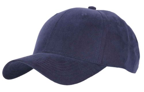 C6720 – 100% Polyester Birdseye Weave 6 Panel Cap with Velcro adjuster