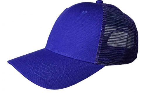 C6732 – 6 Panel Cotton Fronted Low Profile Trucker Cap