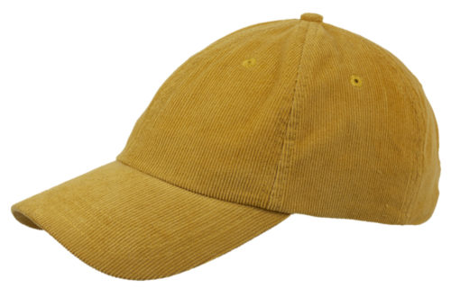 C6736 – Soft Feel Poly/Cotton Pincord 6 Panel Cap