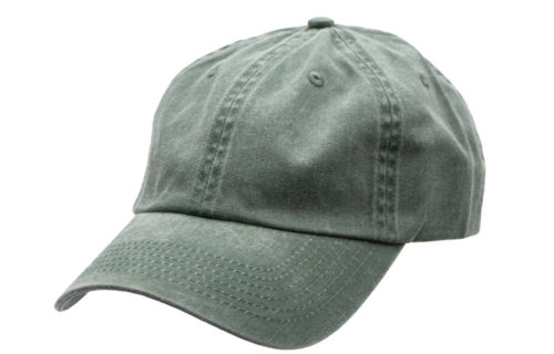 C6739 – Pigment-Dyed 100% Cotton Twill 6 Panel Unstructured Cap with Brass Buckle Adjuster
