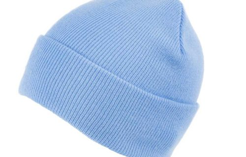 S0001 – 100% Acrylic beanie with turn-up