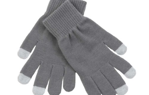 SMG001 – Acrylic/Spandex Knitted Smartphone Gloves with active touch fingertips